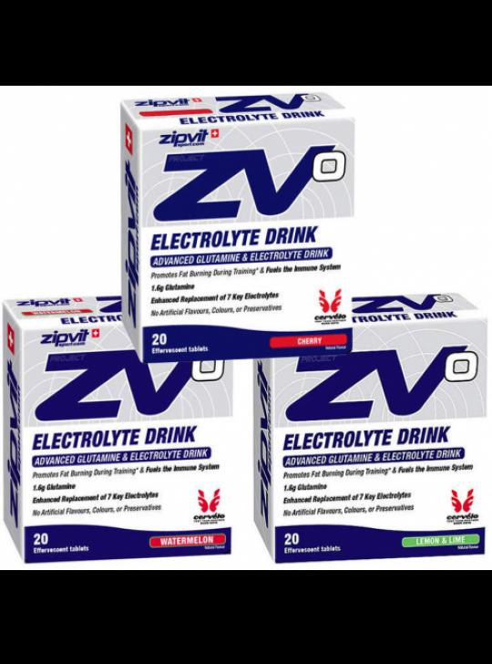 ELECTROLYTES TABLETS ZIP VIT CHERRY 20X4.5G