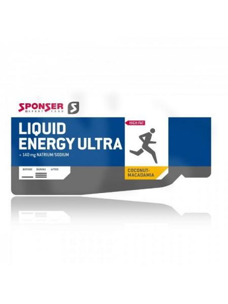 SPONSER LIQUID ENERGY ULTRA GEL 25G