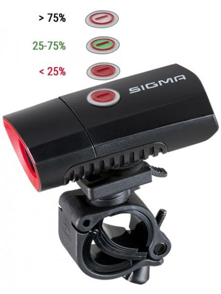 LUZ SIGMA FRENTE BUSTER 300 PRETO USB