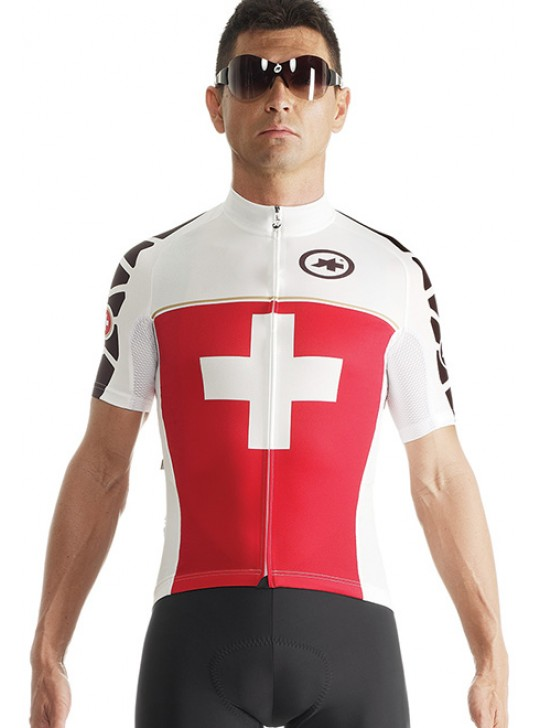 JERSEY ASSOS SS SUISSE FED EVO7