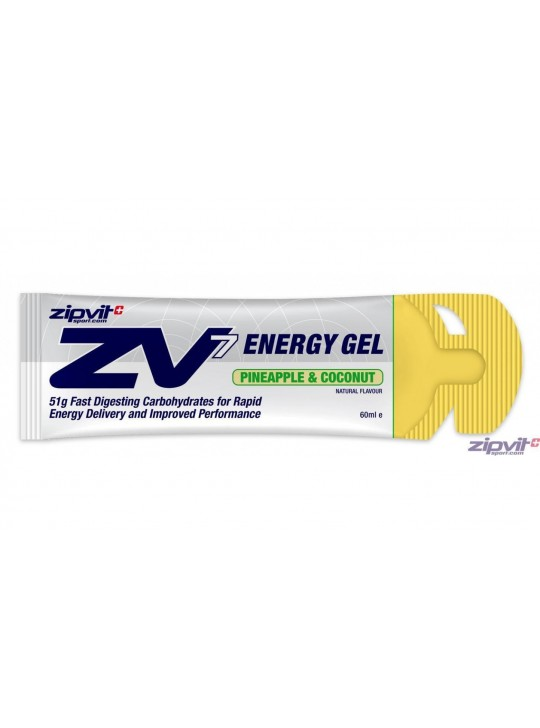GEL ENERGETICO ZIPVIT ZV7 PINEAPLE & COCONUT