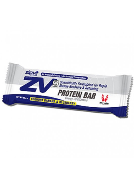 BARRA PROTEINA ZIPVIT BANANA/BLUEBERRY